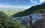 North Island hike, New Zealand