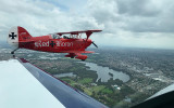 Aerobatic flight over Sydney