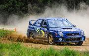 Suburu WRX rally car driving Wanneroo