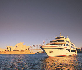 2 course sunset dinner cruise