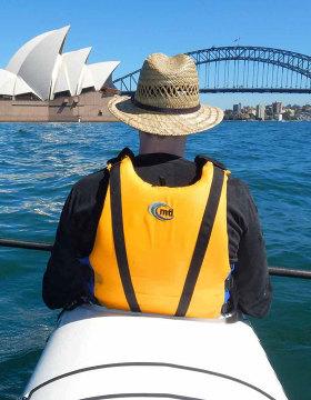 kayaking to goat island sydney