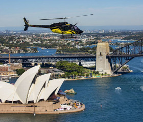 helicopter flights sydney
