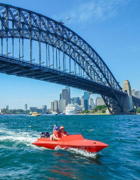 Sydney Harbour self-driven boat tour