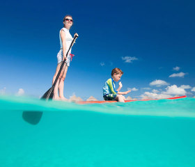 Stand up paddle boarding st kila