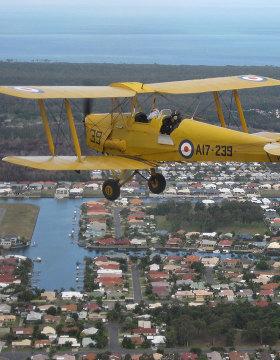 tiger moth flight brisbane