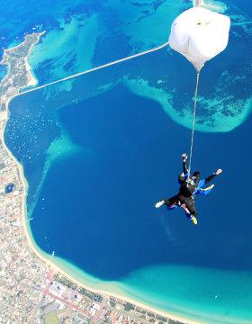 skydive over rockingham 15,000ft
