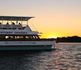 mandurah sunset and tapas cruise