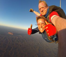Skydiving Uluru