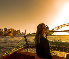 private sydney sunset cruise with hamper and bubbles