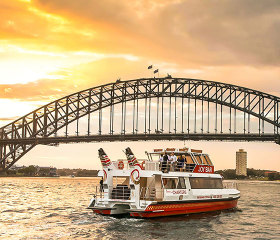 sydney harbour cruise with drink