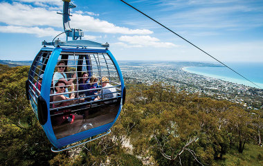 Arthurs Seat eagle cable car ride