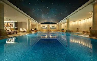 The Langham Hotel Sydney indoor pool