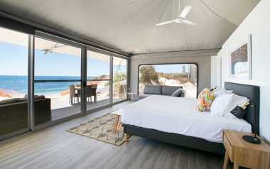 Rottnest Island glamping tent