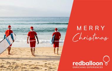 RedBalloon Christmas e-gift card