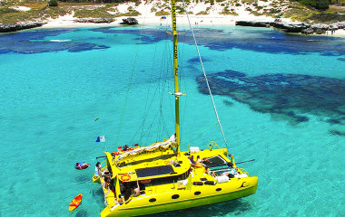 snorkel and catamaran tour rottnest island