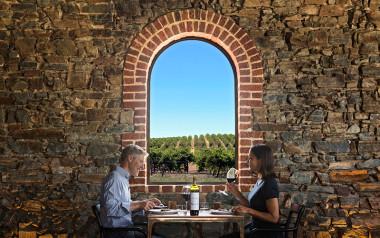 St Hugo Winery restaurant