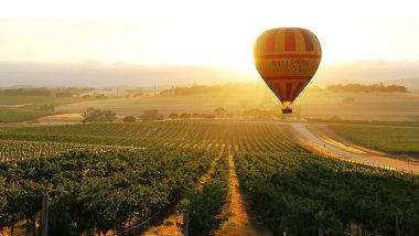 south australia hot air ballooning