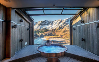 Daytime hot pools private bathe with indulgence pack