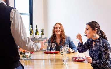 Italian wine tasting and grazing platter lunch