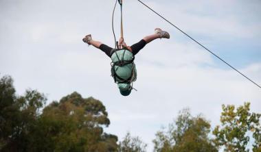 Rock Climbing, Zipline and Mega Swing Experience