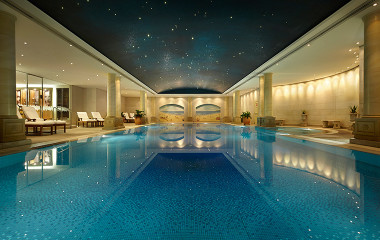 The Langham Hotel Sydney indoor pool