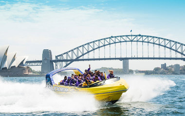 Jet boat ride sydney harbour