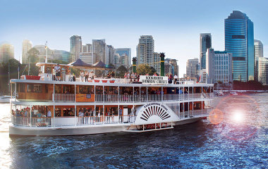 paddlewheeler cruise with buffet lunch