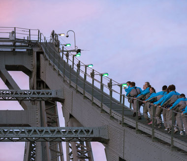 Brisbane's Story Bridge Twilight Climb