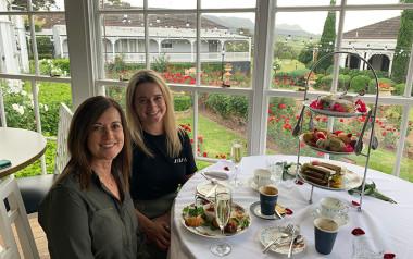 Kirkton Park Hotel high tea, Hunter Valley