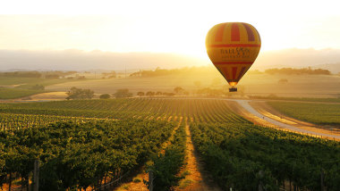 south australia hot air ballooning