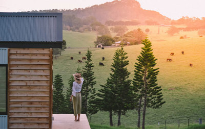 Eco pod getaway in Tilba, NSW South Coast