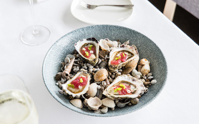 Oysters at Pilu at Freshwater