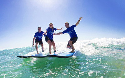 Surf Lesson in Byron Bay