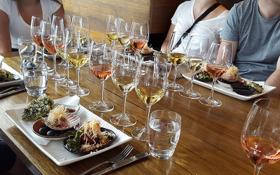 Food and matched wines