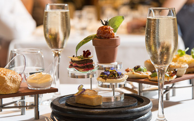 High tea at National Gallery of Victoria