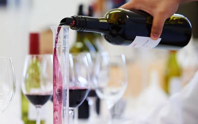 Wine blending class
