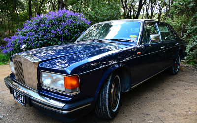 Rolls Royce private winery tour