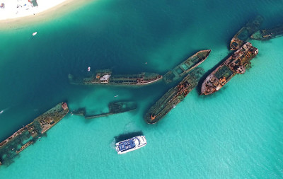 Tangalooma Wrecks Queensland