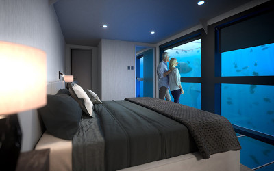 Underwater hotel Great Barrier Reef, Queensland