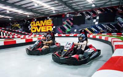 Electric go karting