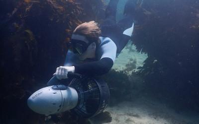 Underwater scooter tour Sydney