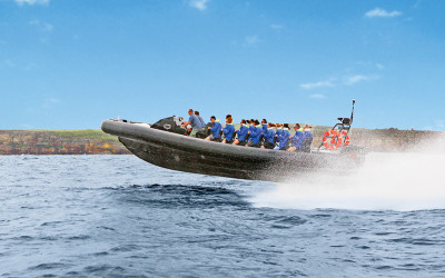 Jet boat ride Bondi Beach