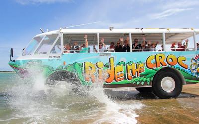 Aquaduck tour, Airlie Beach