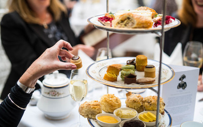 Afternoon tea at Hadley's Orient Hotel