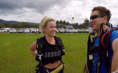 Skydive over Wollongong