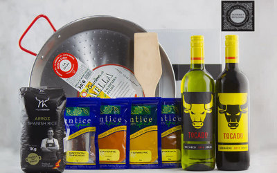 Spanish paella kit