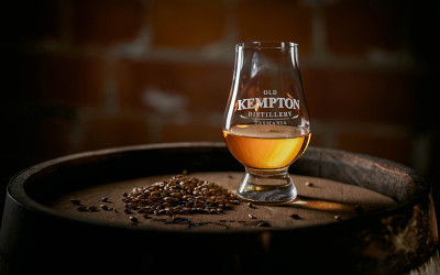 Whisky distillery tour at Old Kempton Distillery Tasmania