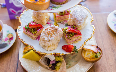 High tea with bottomless champagne Melbourne