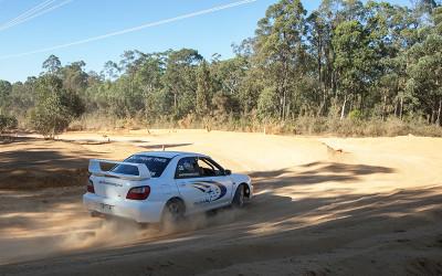 Rally drive with hot laps Ballarat
