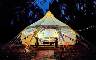 2 night Perth Hills luxury glamping getaway